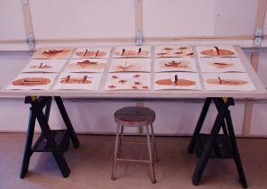 The Collab Drawings (install view)